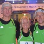 Marathon Frankfurt. Starter TSV Hollstadt